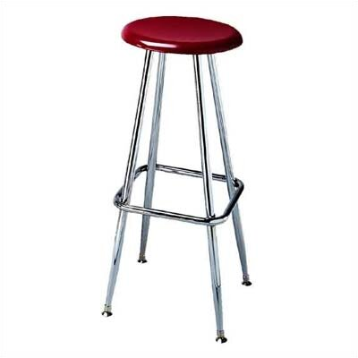 Scholar Craft Height Adjustable Solid Plastic Stool with Footring