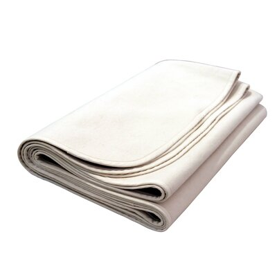 Natural Mat Flannelette Organic Crib Mattress Protector Pad