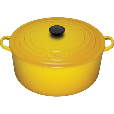Enameled Cast Iron 9-Qt. Round Dutch Oven