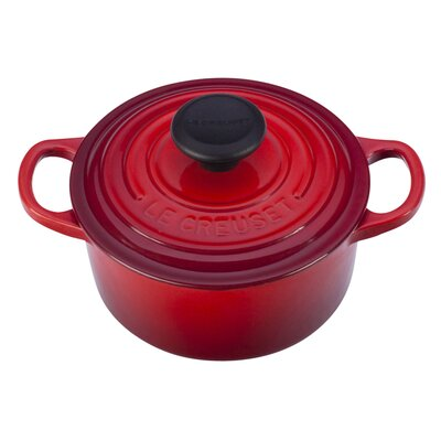 Enameled Cast Iron 1-Qt. Round Dutch Oven