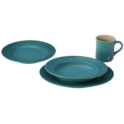 Le Creuset 4 Piece Dinnerware Set
