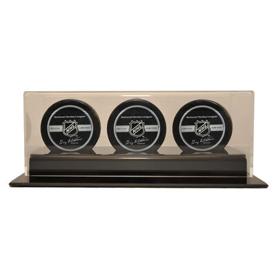 Caseworks International Triple Hockey Puck Display Case