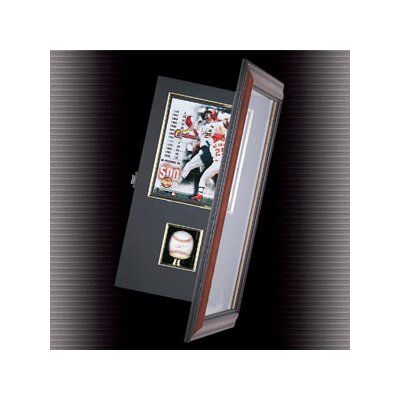 Caseworks International Coach's Choice Baseball and Photo Shadow Box Display