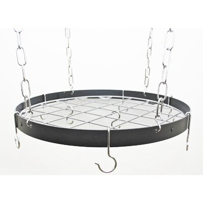 Rogar Gourmet Custom Round Hanging Pot Rack