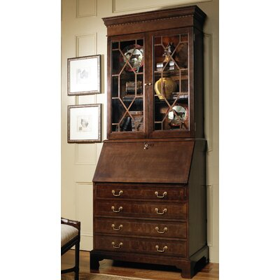 Jamestown Secretary Desk with Drawers and Hutch | Wayfair
