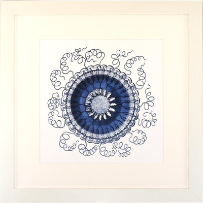 Indigo Avenue Seaside Living Ocean Gems III Framed Wall Art