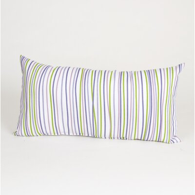 Sweet Potato by Glenna Jean LuLu Rectangular Pillow with Stripes