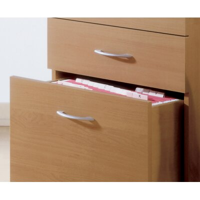 Nexera Three-Drawer Mobile File