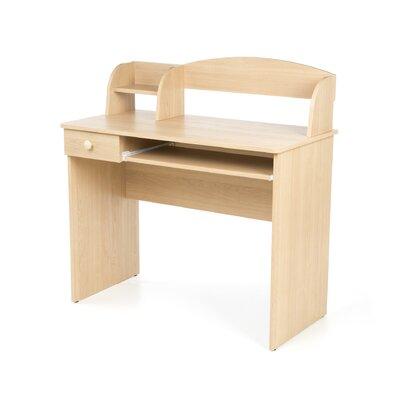 Nexera Alegria Student Computer Desk in Natural Maple