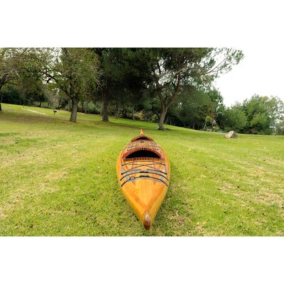 Old Modern Handicrafts Two persons Real Kayak 19 Tandem