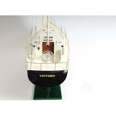 Old Modern Handicrafts Victory Yacht Painted
