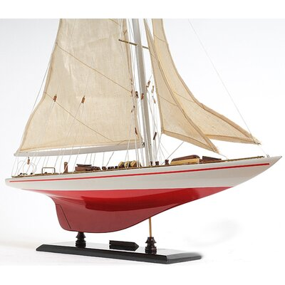 Old Modern Handicrafts Endeavour Yacht Painted 24