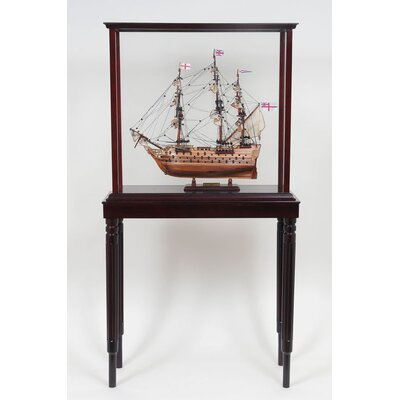 Old Modern Handicrafts Display Case for Tall Ship
