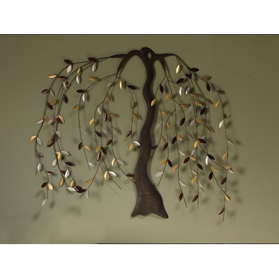 Cape Craftsmen Willow Metal Wall Art