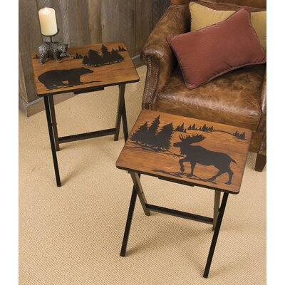 Cape Craftsmen Wilderness TV Tray (Set of 4)
