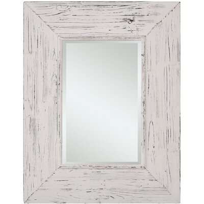 Cooper Classics Wilkes Mirror in Distressed White