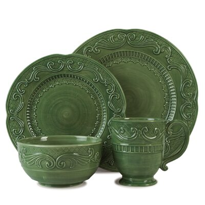 Fitz and Floyd Ricamo Dinnerware Set