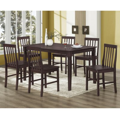 Home Loft Concept Bentley 7 Piece Dining Set