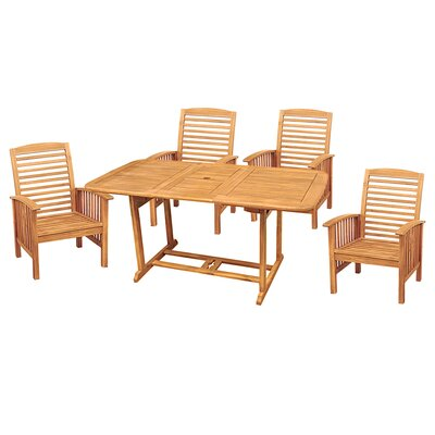 Home Loft Concept 5 Piece Dining Set