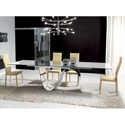 Unico Italia Infinity 5 Piece Dining Set