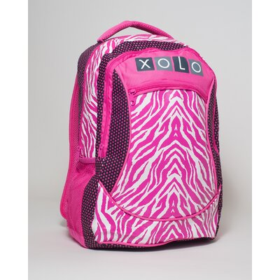 XOLO Zaney Zebra Backpack