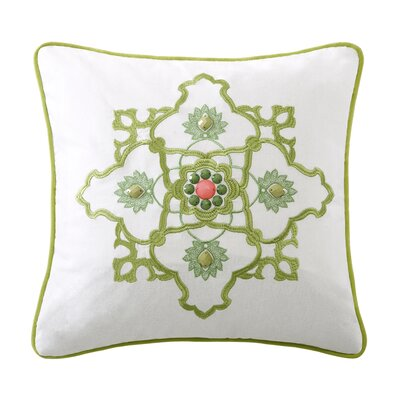 Gramercy Paisley Cotton Square Pillow