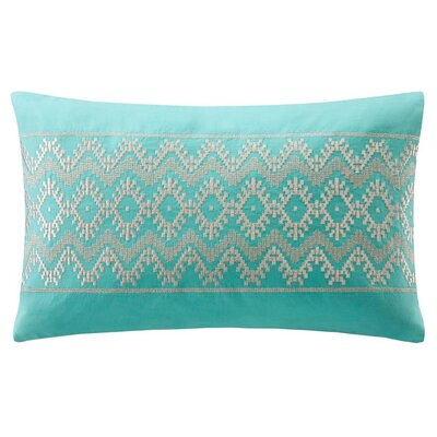 echo design Mykonos Cotton Linen Oblong Pillow
