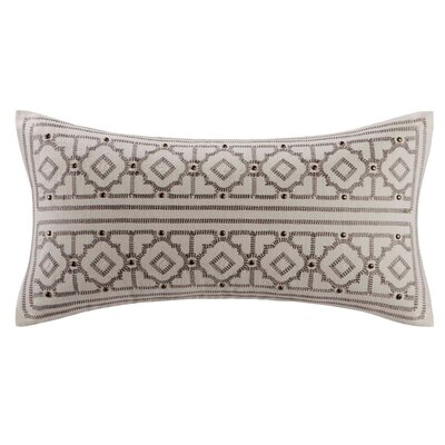 echo design Odyssey Cotton Faux Linen Oblong Pillow