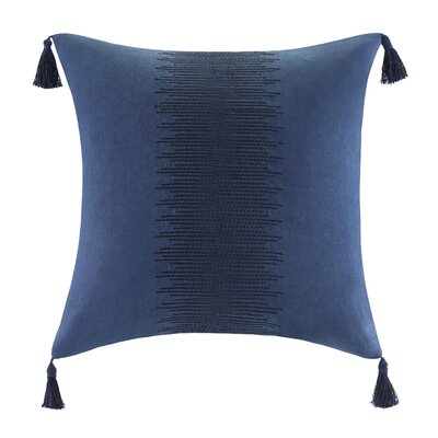 echo design African Sun Cotton Faux Linen Decorative Pillow