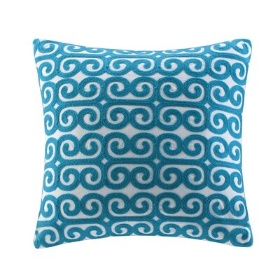 echo design Rio Cotton Faux Linen Decorative Pillow