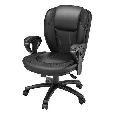 Line Designs Manager Bonded Leather Chair & Reviews | Wayfair