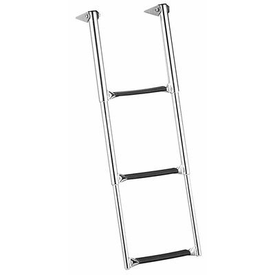 Garelick MFG. Company Over Platform Telescoping 3-Step Drop Ladder