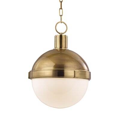Lambert 1 Light Pendant