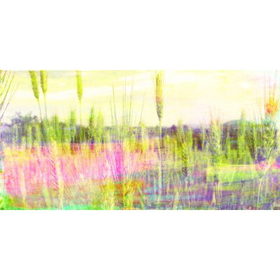 Jen Lee Art Green Grass Canvas Art