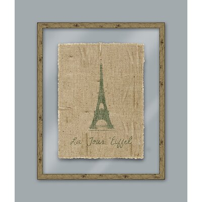 Epic Art Green Eiffel Wall Art