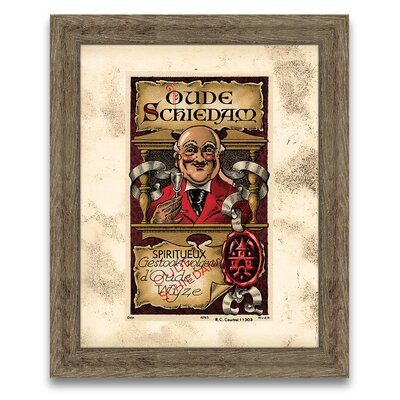 Epic Art The Connoisseur's Eye Wine Label V Wall Art