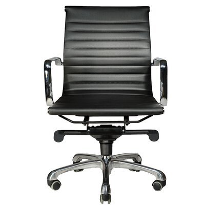 Wobi Office Robin Low-Back Leather Chair