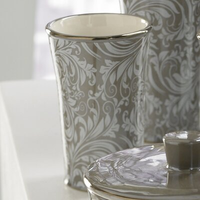 Trump Home Bedminister Scroll Tumbler in Flint Grey