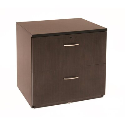 "Regency 30"" x 24""  Two-Drawer Locking Fully Assembled Lateral File"