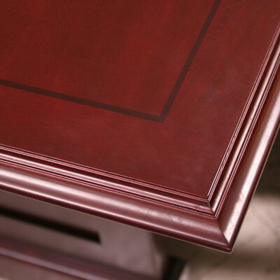 Regency Prestige Traditional Veneer Round Conference Table in Mahogany
