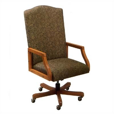 Lesro Madison Series High-Back Office Chair with Arms