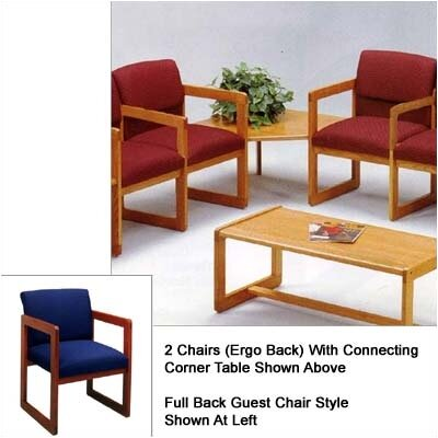 Lesro Classic Two Chairs with Full Back