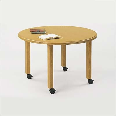 "Lesro Contemporary Series 42""  Round Gathering Table (4 post base)"