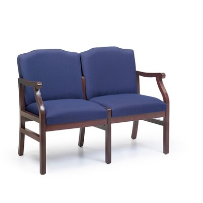 Lesro Madison Two Seats with Wood Legs