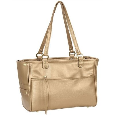 Petote Classic Lucky Pet Carrier in Gold