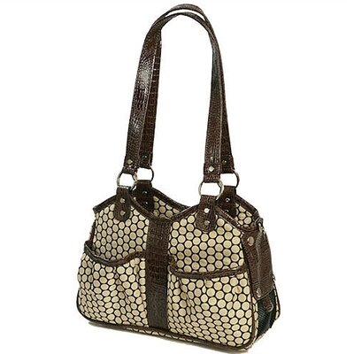 Petote Metro 2 Pet Carrier in Noir Dot