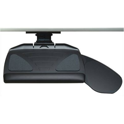 Workrite Ergonomics Banana Board System - Keyboard Tray and Mouse Platform with Single Adjustable Arm