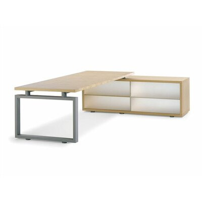 Artifort Window Writing Desk with Credenza by Arnold Merckx