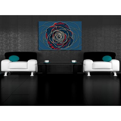 Maxwell Dickson Rose Canvas Print