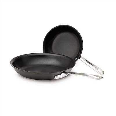 Emerilware by All Clad Hard-Anodized 2-Piece Non-Stick Fry Pan Set